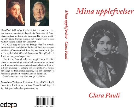 Omslag till Mina upplefvelser av Clara Pauli