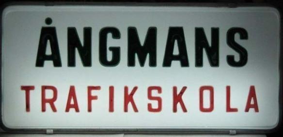 Ångmans Trafikskola