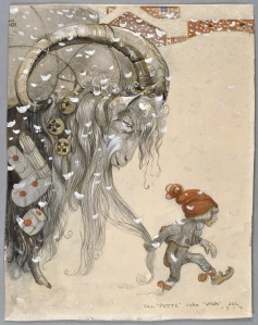 Från Putte till Vava Jul, 1917