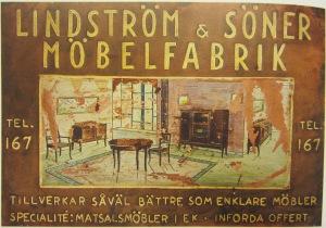 Lindström & söner annons