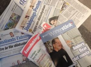 Blandade tidningar